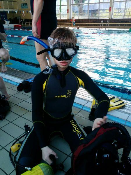 Juniortræning for gulddelfinholdet